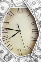 el tiempo es dinero foto