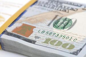Pack of money photo