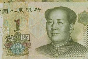 Chinese money Yuan photo