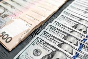 Oekraïens en Amerikaans geld