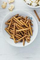 palitos de pretzels foto