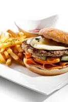 Beefburger photo