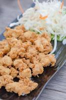 tendones de pollo frito foto