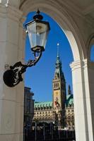 Hamburg town hall photo