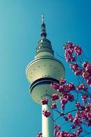 torre de televisión de hamburgo foto