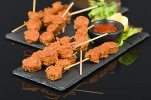 Spicy Chicken Satay photo
