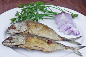 fried chub mackerel