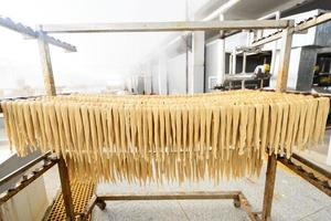 Production process of Yuba