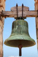 oude klok in Fort van Calafell, Spanje