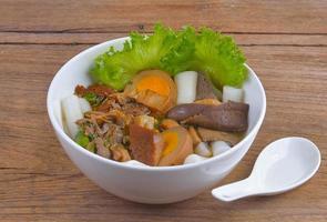 pasta de harina de arroz foto