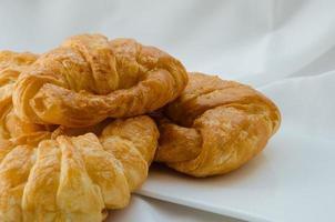 Croissants, Fresh Baking for Breakfast. photo