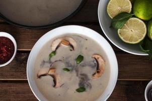 sopa tailandesa photo