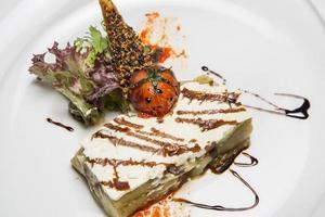 grilled aubergine with cheese 2