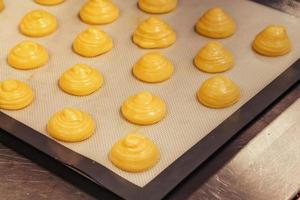 Cooking profiteroles