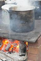 fogueira de cozinha