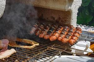 cocinando barbacoa