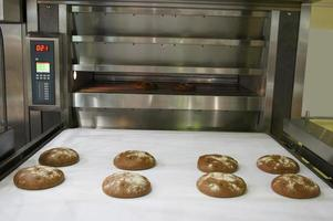 horno de panadería foto