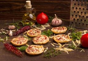 pizzas photo