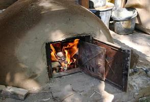 Clay oven photo