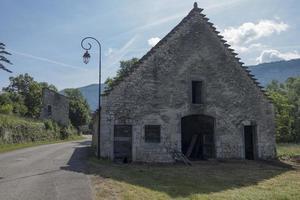 Bugey, arquitectura típica. foto
