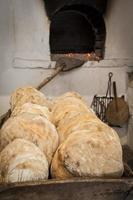 Ancient wood oven photo