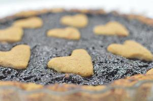 crostata alla marmellata di more