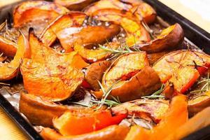 Baked pumpkin photo