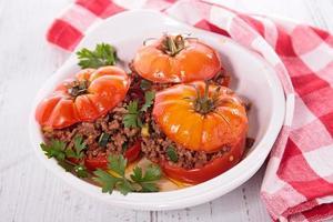 tomate al horno foto