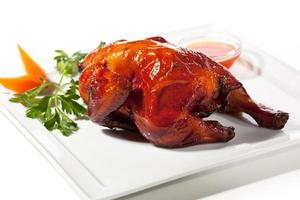Pollo al horno foto