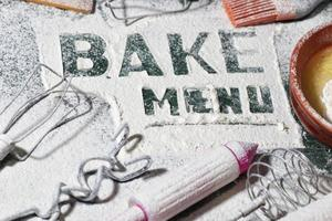 baking process utensils