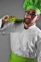 Chef working