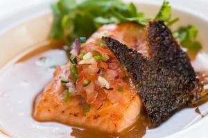 sopa de pescado foto