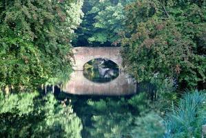 puente de agua foto