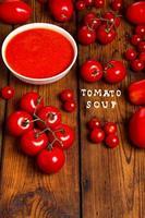 Tomatoes juice photo