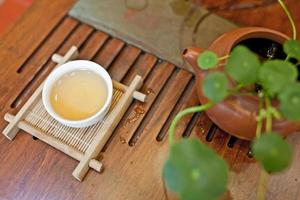 The Chinese tea ceremony
