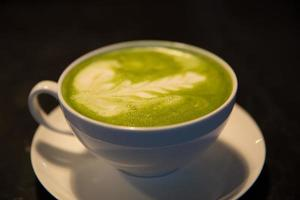 Matcha Latte photo