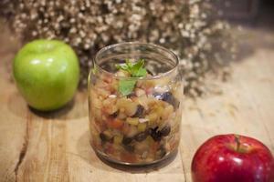 condimento de manzana