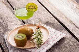 jugo de kiwi