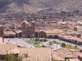 plaza de armas, cusco, peru foto