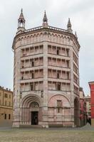 Baptistery of Parma, Italy photo