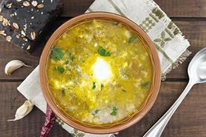 sopa nacional de ucraniano y ruso borsch