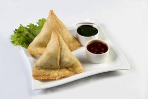 Vegetable samosas - indian food