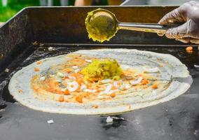 Indian cooking photo