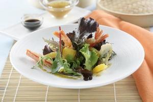 Tempura salad photo
