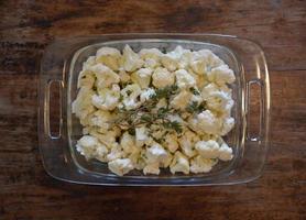 cauliflower and thyme photo