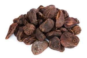 Whole Cola Nuts (isolated on white) photo