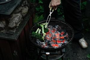 asar verduras foto