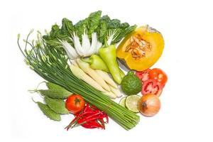 Fresh vegetables for good healthy
