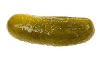 gherkin isolated photo