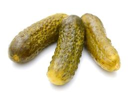 Pickled cucumbers photo